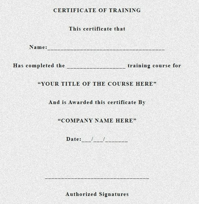 experience certificate , experience letter